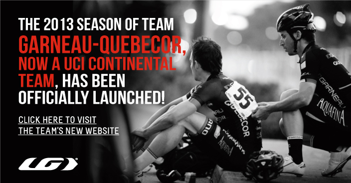 Garneau-Quebecor now a UCI Continental Team!