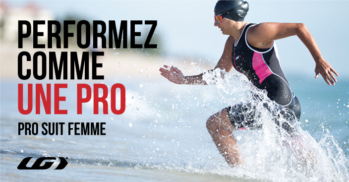 Perfomez comme une PRO - Triathon Pro Suit Femme