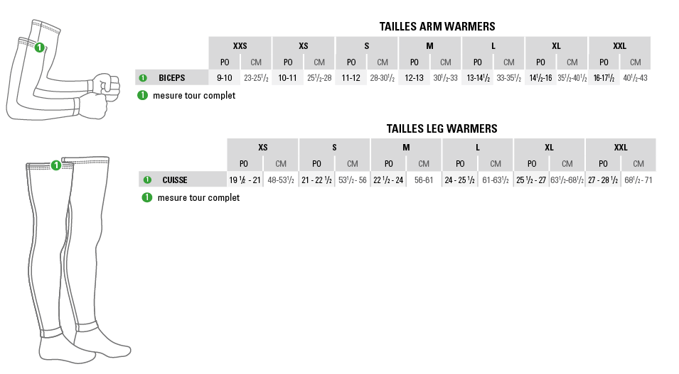 Warmers SizeChart FR (CHART_warmers_fr.png)